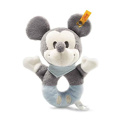 Steiff 290046 Mickey Mouse grijpring, blauw