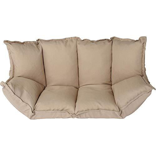 【12月リニューアル】アイリスプラザソファー座椅子2人掛けフロアソファソファベッドローソファベージュさらさら幅約105-150㎝【PORINA2】CG-SF061FR-3-IP