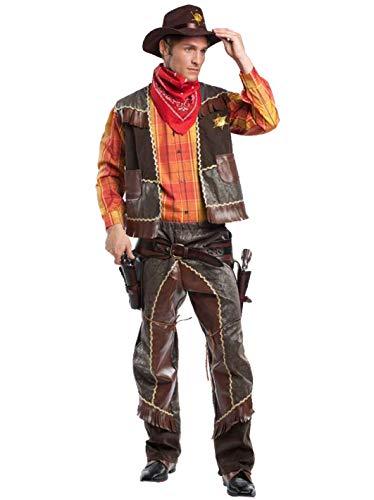 Disfraz de Vaquero Italiano: Commerciale Italiana: Amazon.es: Hogar
