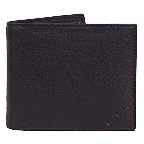 Mens Black Genuine Leather Walle...