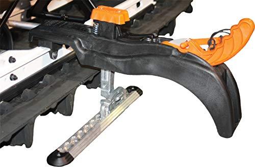 Bowdriks Industries 2001 SC-REAR-ST Black 12' x 3.5' x 6.5' Tie-Downs