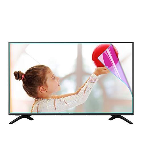 Bueuwe Película Protectora de Pantalla de luz Anti Azul Anti Azul, HD Anti-UV Reduce la película de Filtro de TV de cepa de Ojos para Pantalla LCD, LED, OLED, OLED de 32-75 Pulgadas,40' 886 * 498mm