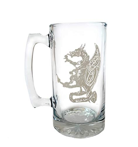 Celtic Dragon 27oz Stein