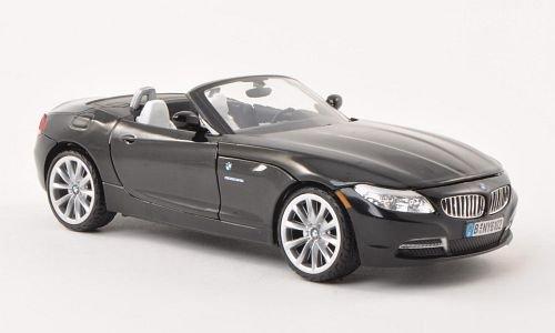 BMW Z4 (E89), schwarz , 2010, Modellauto, Fertigmodell, Motormax 1:24