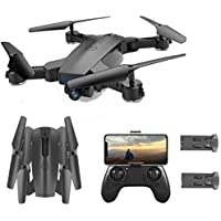 SGOTA WiFi RC Quadcopter Drone with Dual 720P HD 2MP Cameras, Follow Me Mode & Double Battery