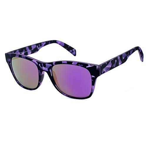 italia independent 0901-144-000 Gafas de sol, Negro/Gris, 52 Unisex