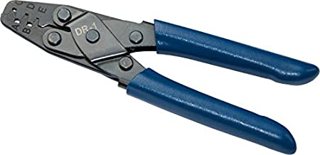 HAPDUX Automotive Terminal Crimp Wiring Harness Terminals Crimping Tool Style Plier DR-1 Crimper Plier Tool for Molex Style DELPHI AMP TYCO Terminals Crimper Open Barrel 24-14 AWG