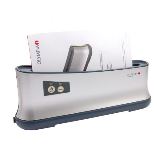 Olympia TB 1280 Thermobinder (Automatische Abschaltung, Schnelles Aufwärmen, Bis 200 Blatt, Bindegerät für Thermo-Bindemappen, Thermobindemaschine DIN A4 für Büro)
