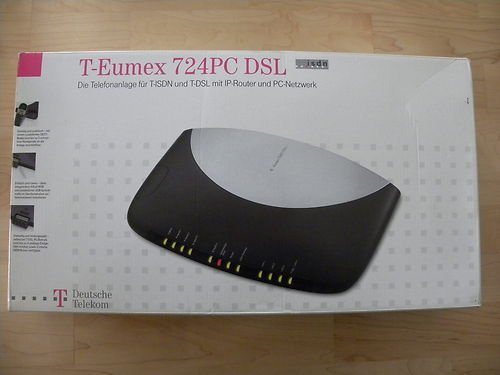 Telekom EUMEX 724 PC DSL ISDN Phone System W, IP-Router