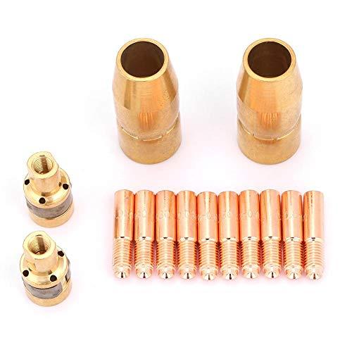 14-delige lasset mondstuk, mig-onderdelen passen molen 2 stuks 196716-10 stuks 000067