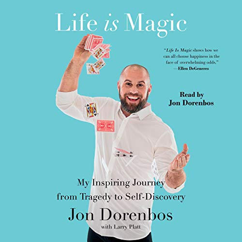 Life Is Magic audiobook cover art