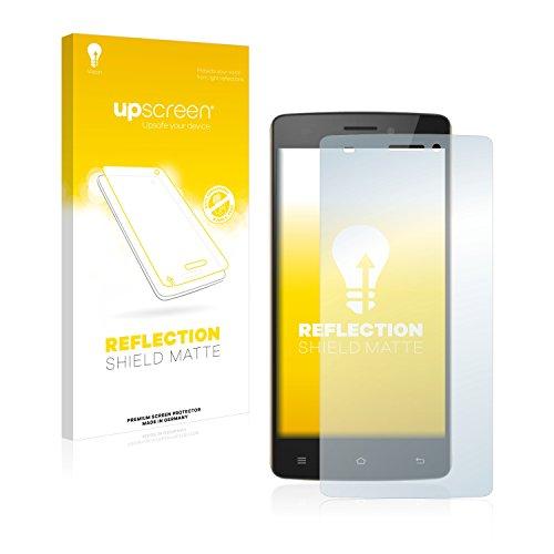 upscreen Entspiegelungs-Schutzfolie kompatibel mit Cubot X12 – Anti-Reflex Bildschirmschutz-Folie Matt