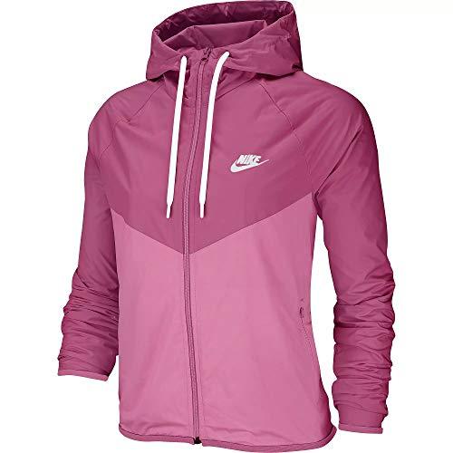 Nike NSW Women Windbreaker Jacke (S, Fuchsia)