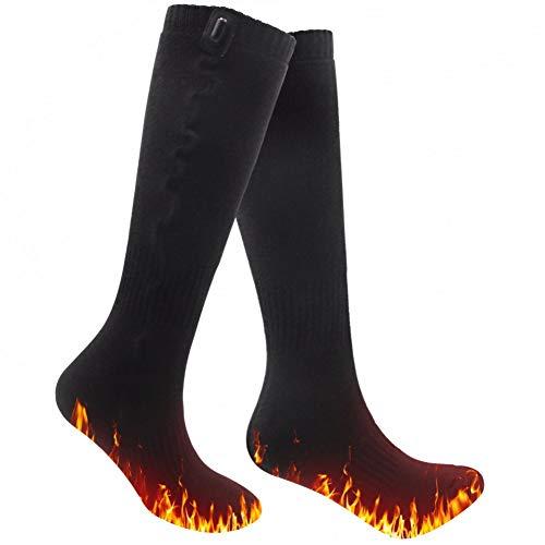 1 Paar 5V USB beheizte Socken für Füße Frauen Männer Kalt Outdoor Sport Baumwolle Socken Thermo Winter Socken