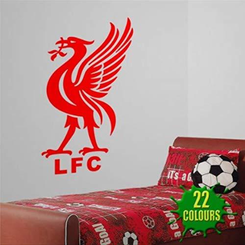 Liver Bird Liverpool FC Wall Decals Football Sport Bedroom Nursery playroomRemovable Vinyl Decals Sticker Wall Decor Mural Wall Art Home Decor
