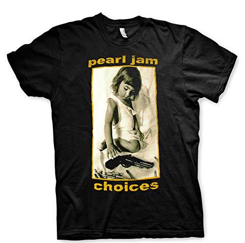 Crayons Eddie Vedder Ten Vs Vitalogy Official Tee T-Shirt Mens Unisex (Small) Black