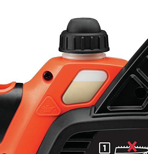 BLACK+DECKER GKC1825L20-QW Elettrosega a Batteria Litio 18V-2.0 Ah, Barra 25 cm