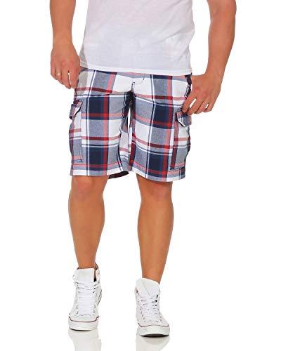ZARMEXX Pantalón de algodón para Hombre Pantalón Corto de Bermudas