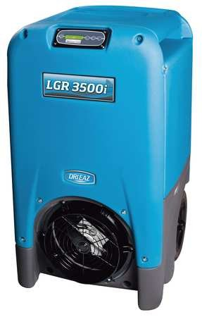 Best Review Of Low-Grain Portable Dehumidifier, Blue, 2775 RPM Speeds, 115V