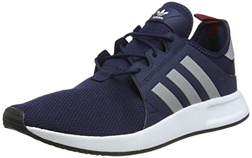adidas X_PLR, Herren Gymnastikschuhe, Blau (Collegiate Navy/Silver Met./Collegiate Burgundy), 44 EU