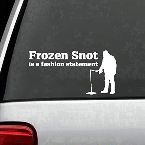 Frozen Decal Elsa Sticker Frozen Snot es una declaración de moda Glass Wall Windows Doors Vehicle Car Sticker Notebook Decal Sticker Décor