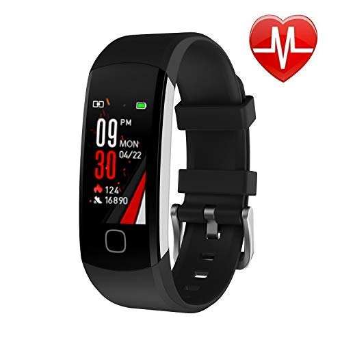 L8star Fitness Tracker, Continuous Heart Rate Monitor...