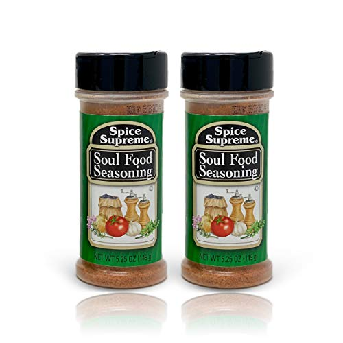 Soul Food Seasoning Spice (5.25 oz.) Plastic Shaker Bottle - Pack of 2