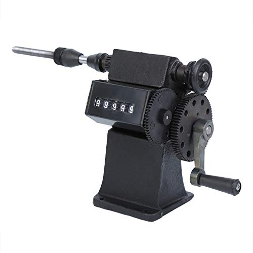 Yonntech Dual Purpose Manual Coil Winder Machine with Counter Hand...