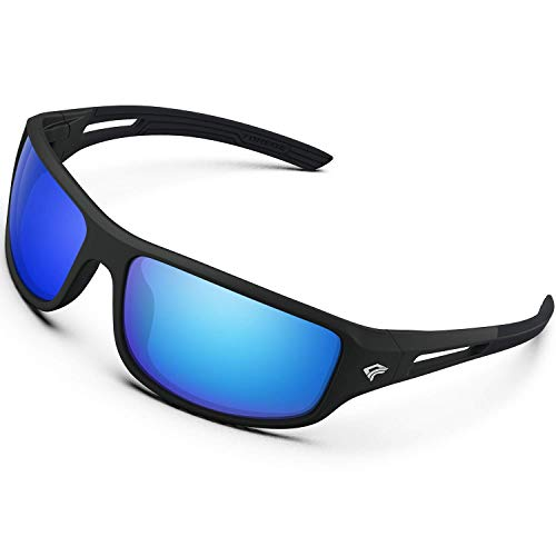 Torege Polarized Sports Sunglasses for Men Women Cycling Running...