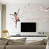 Zoom IMG-2 kibi adesivi muro elf fiori