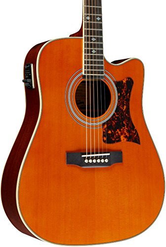 Epiphone DR-500MCE Acoustic/Electric (Dreadnought), Natural