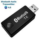 Artbest USB Bluetooth Émetteur, Adaptateur Musique Stéréo Sans Fil Dongle Audio Pour Les Appareils for TV Casque, Pc, Ordinateur, Ipod, Lecteur Multimédia