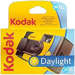 Kodak SUC Daylight 39 800ISO - Cámara analógica desechable Color Amarillo y Azul