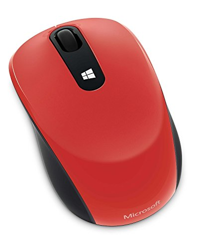 マイクロソフト マウス ワイヤレス/小型 レッド Sculpt Mobile Mouse 43U-00040