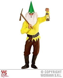 YELLOW Costume Garden Goblin Outfit