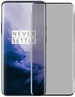 for Oneplus 7 Pro/Oneplus 7T Pro Privacy Screen Protector Anti-Scratch 9H Hardness Tempered Glass Film Anti-Spy Screen Pro...