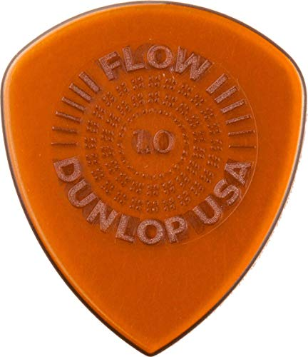 Dunlop Flow Standard Grip 1.0mm Guitar Picks (549P1.0)