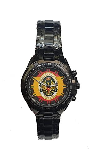 Guardia Civil de Tráfico Reloj de Pulsera Personalizado Elegante y Exclusivo. Guardia Civil de Tráfico. Incluye Caja de Regalo.