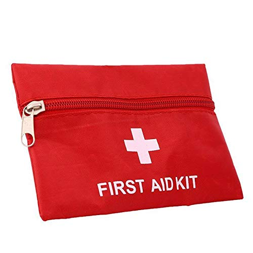 2 Pack Small First Aid Kit Bag Empty First Aid Bag Pouch Bag for Home Office Car Businesses CampingEmpty Bag
