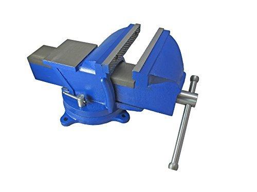 Schraubstock 200mm H mit Amboss - robuste 25 kg Ausführung 360° drehbar für Werkbank vice with anvil