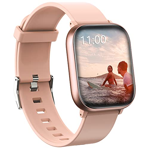 Smart Watch, PUBU Smart Watches for Men Women for Android Phones and iOS Phones Compatible iPhone Samsung, Fitness Tracker with Blood Pressure Oxygen Monitor, Sleep Monitor Step Calorie Counter