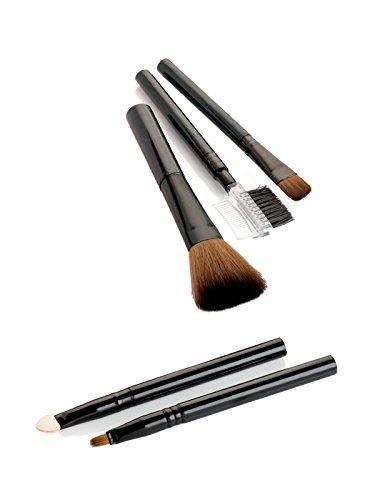 Lot de 5 pinceaux cosmétiques applicateurs de maquillage - Accessoires de beauté