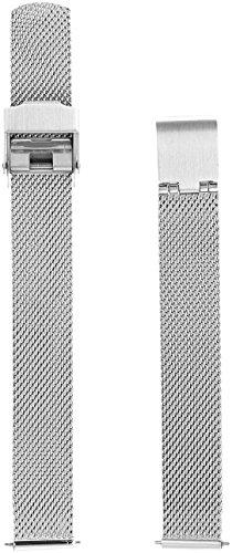 Skagen Women's 12mm Stainless Steel Mesh Watch Strap, Color: Silver (Model: SKB2030)
