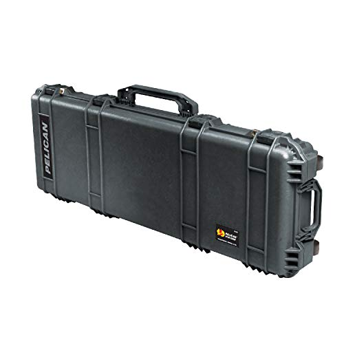 Pelican 1720 Rifle Case With Foam (Black), 42 Inches