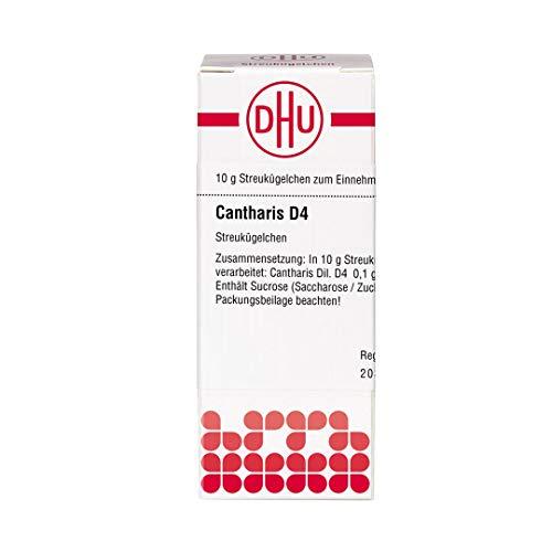 DHU Cantharis D4 Streukügelchen, 10 g Globuli