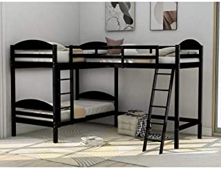 Amazon Com Corner Bunk Bed