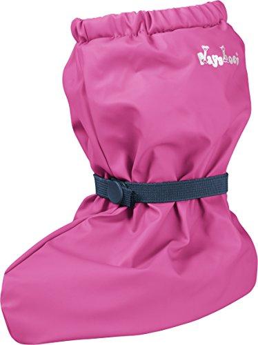 Playshoes Unisex Baby mit Fleece-Futter leichte Krabbel-Schuhe, Pink (pink 18), Medium
