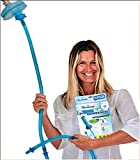 Rinseroo: Slip-on, Handheld Showerhead Attachment Hose for Sink and Shower. No Installation, Detachable Shower Head Sprayer. Fits Faucets Up To 6' Wide. Not For Tubs.