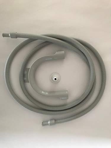 Bosch Siemens 284849 00284849 ORIGINAL Ablaufschlauch Schlauch Entleerungsschlauch Wasserablaufschlauch 2m Wäschetrockner Trockner Trocknerautomat auch Neff Constructa WTZ1110