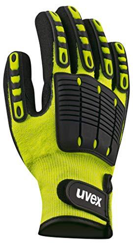 Uvex Synexo Impact 1 Schnittschutzhandschuhe - Gelb-Schwarz - Gr 07 (S)
